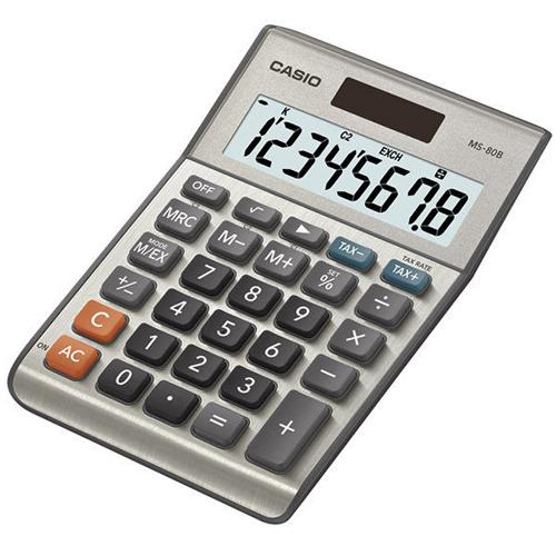 【CASIO卡西歐】 MS-80B 8位 桌上小型計算機