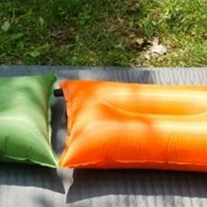 美麗大街【105062075】戶外野營自動充氣枕帳篷枕PVC休閒枕頭汽車枕便攜旅行枕午睡枕頭