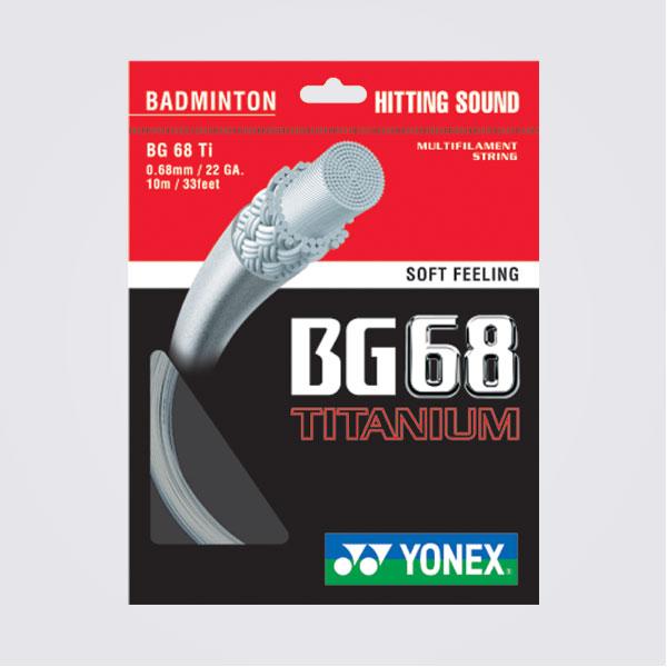 【登瑞體育】YONEX 羽球線 - BG68Ti