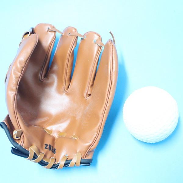 小兒童棒球手套 + 軟式安全棒球(國小以下適用)/一組入{促180}