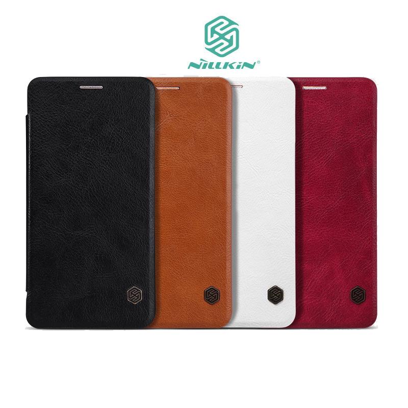 ~斯瑪鋒數位~NILLKIN Samsung Galaxy Note 5(N920)秦系列皮套 側翻皮套 可插卡皮套