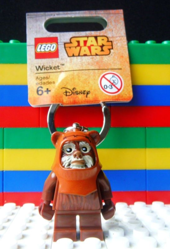 ?法西歐 桃園? LEGO 樂高 KEYCHAIN 鑰匙圈 STAR WAR 星際大戰 Wicket 伊沃克族