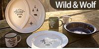 Wild&Wolf,琺瑯,紳士系列,刀叉,砧板