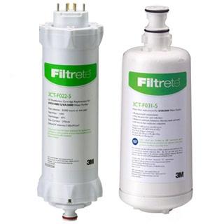 3M UVA3000 紫外線殺菌淨水器--專用活性碳濾心3CT-F031-5+紫外線殺菌燈匣3CT-F022-5 一組