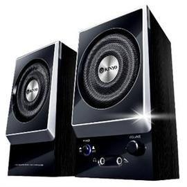 【壹品家現代生活館】KINYO KY-1007 耐嘉二件式木質立體擴大音箱 電腦喇叭