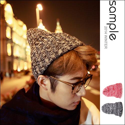 現貨 毛帽【SA10403】混色麻花毛帽【Sample】