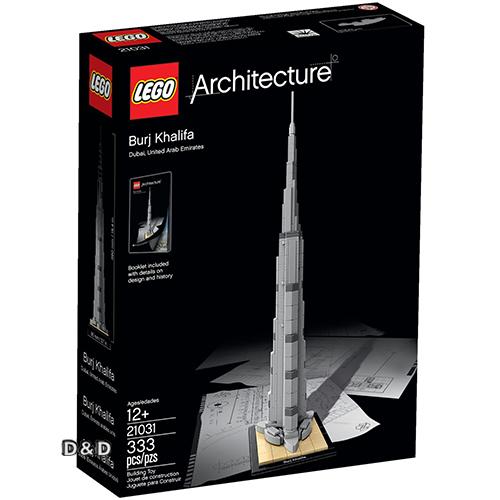 樂高積木 LEGO《 LT21031 》 ARCHITECTURE 世界建築系列 - 杜拜哈里發塔