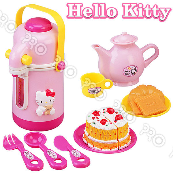 HELLO KITTY茶具組(熱水瓶)→FB姚小鳳