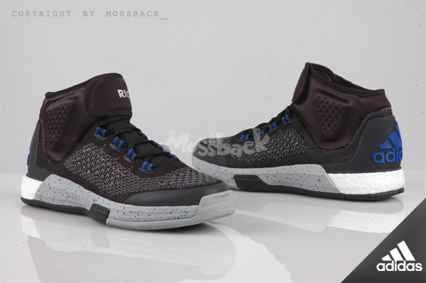 『Mossback』ADIDAS CRAZYLIGHT BOOST PRIM 籃球鞋 黑紫(男.)NO:S85571