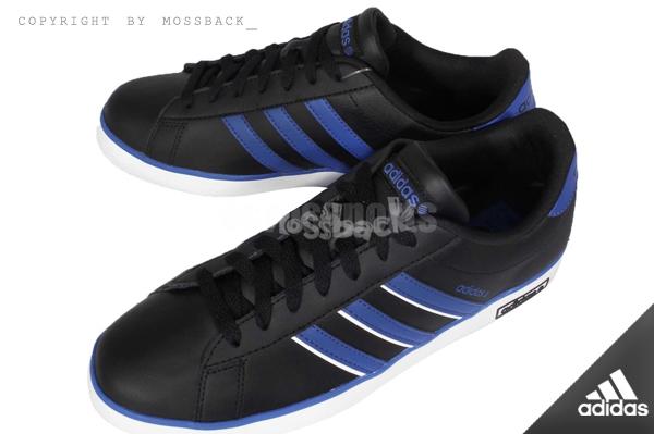 『Mossback』ADIDAS DERBY VUIC 低筒 休閒 運動鞋 黑色(男)NO:F98475