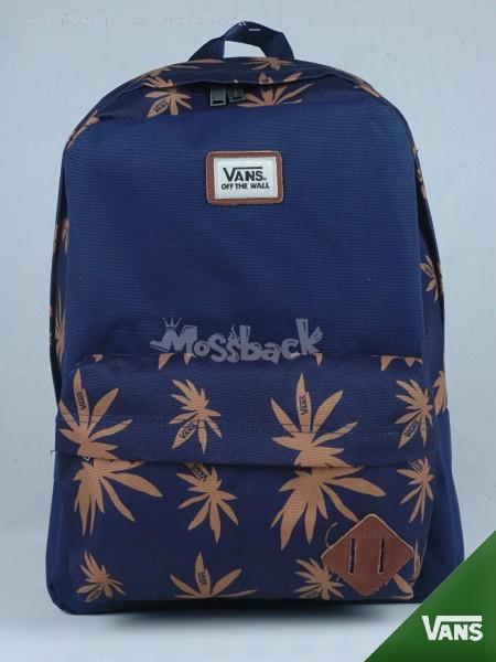 『Mossback』VANS OLD SKOOL II BACKPA 後背包 豬鼻 楓葉 藍色NO:482401PL
