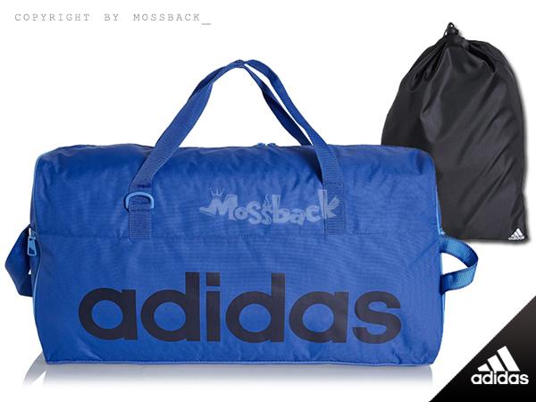 『Mossback』ADIDAS LIN PER TB M 運動 斜跨 手提袋 裝備袋 藍色NO:M67872