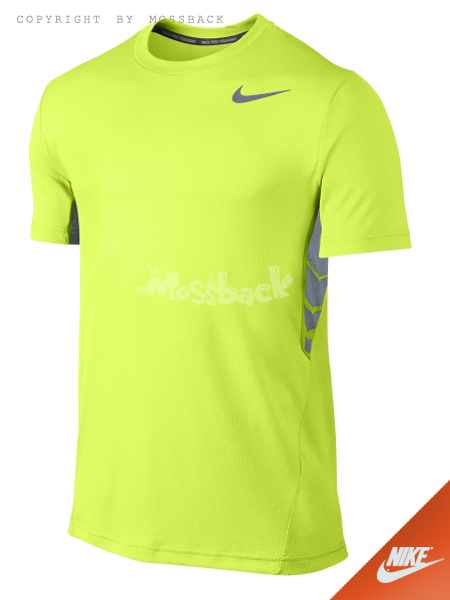 『Mossback』NIKE VAPOR DRI-FIT 訓練衫 短T 瑩光綠(男)NO:644302-702