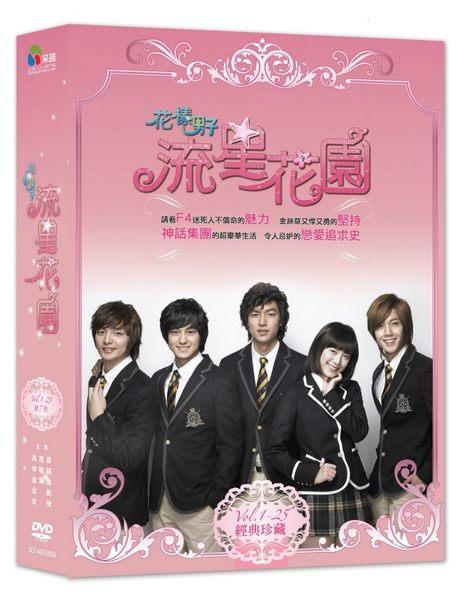 韓劇 花樣男子流星花園DVD (全25集)