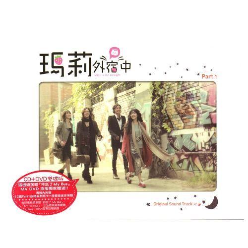 瑪莉外宿中 Part 1 電視原聲帶CD附DVD 典藏影音雙碟版OST原來是美男張根碩瑪麗外宿中(音樂影片購)