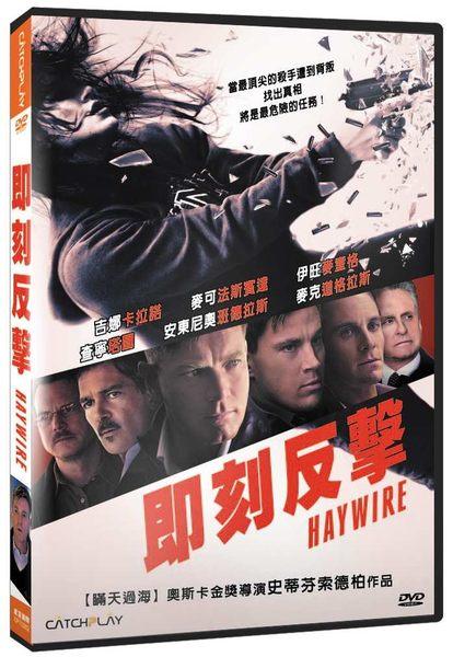 即刻反擊 DVD Haywire 帝國戰記超異能部隊天使與魔鬼鐵達尼號神鬼認證瞞天過海史蒂芬索德柏