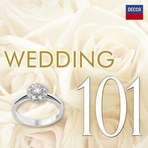 婚禮名曲101 CD 6片裝 Wedding 101 帕海貝爾卡農 華格納結婚大合唱 孟德爾頌婚禮進行曲 (音樂影片購)