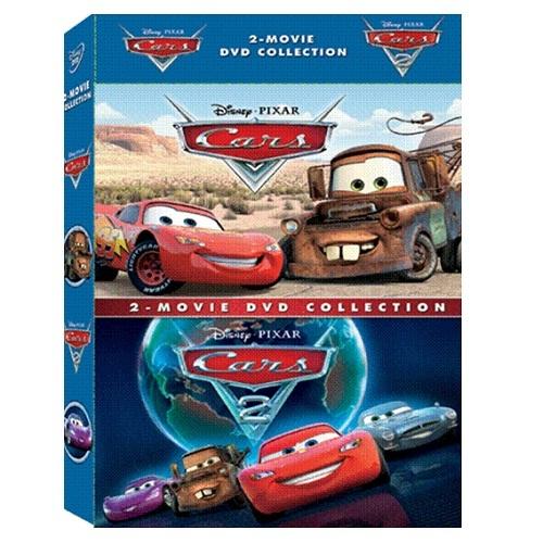 汽車總動員 1+2 典藏特別版DVD Cars 1+2 汽車總動員續集閃電麥昆拖線脫線皮克斯動畫(音樂影片購)