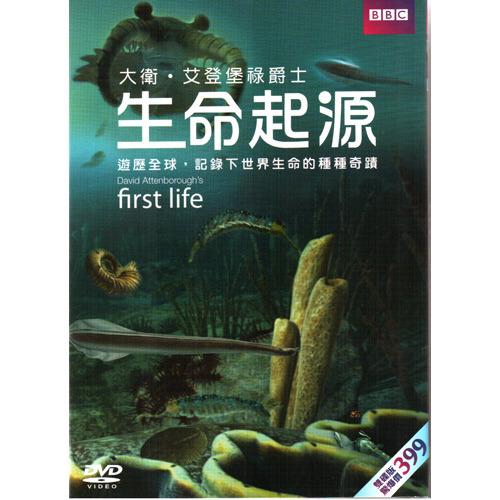 生命起源DVD First Life 英國BBC系列 大衛艾汀堡記錄下世界生命的種種奇蹟 (音樂影片購)
