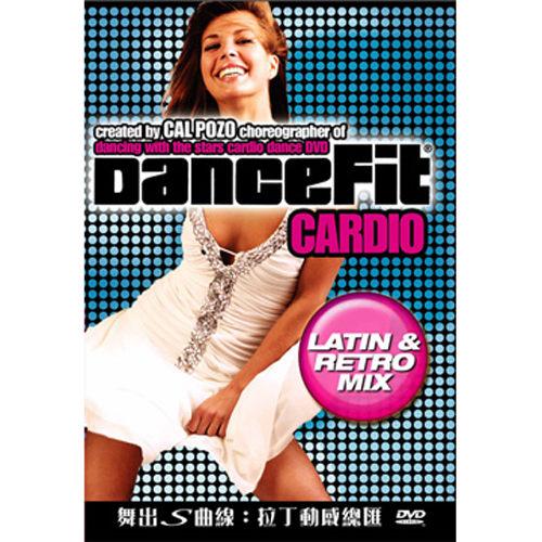 舞出s曲線 拉丁動感總匯 DVD DanceFit Cardio Latin Retro Mix 倫巴舞復古舞步迪斯可 (音樂影片購)