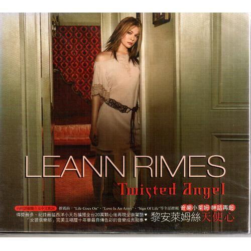 黎安萊姆絲 天使心 專輯CD LeAnn Rimes Twisted Angel 內附28頁全彩歌詞本 (音樂影片購)