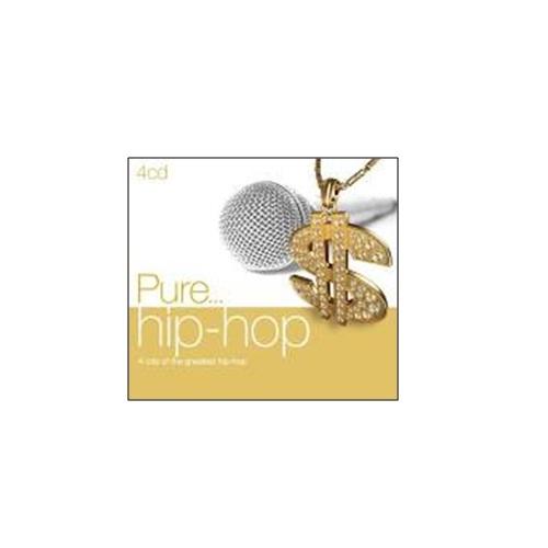 純嬉哈 經典全紀錄CD (4片裝) Pure Hip Hop Jay-Z Outkast Nas Wyclef Jean Run Dmc (音樂影片購)