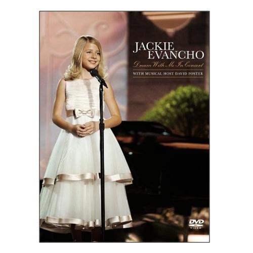 美聲小天使 小賈姬 夢想起飛演唱會實況DVD Jackie Evancho Dream With Me In Concert(音樂影片購)