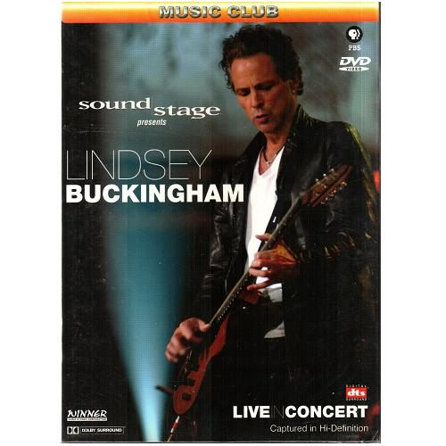 林賽白金漢 現場演唱會DVD Lindsey Buckingham Live in Concert 英國著名藍調樂團(音樂影片購)