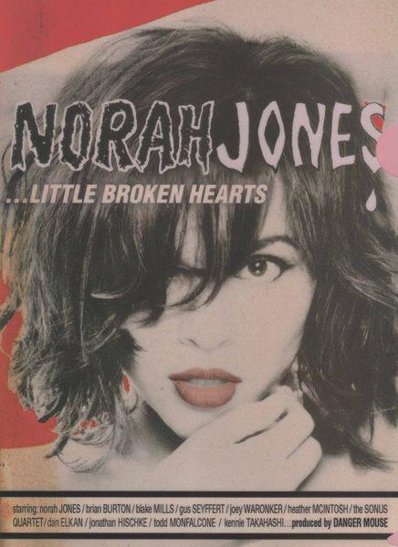諾拉瓊絲 資料夾 NORAH JONES LITTLE BROKEN HEARTS 限量影音周邊商品 (音樂影片購)