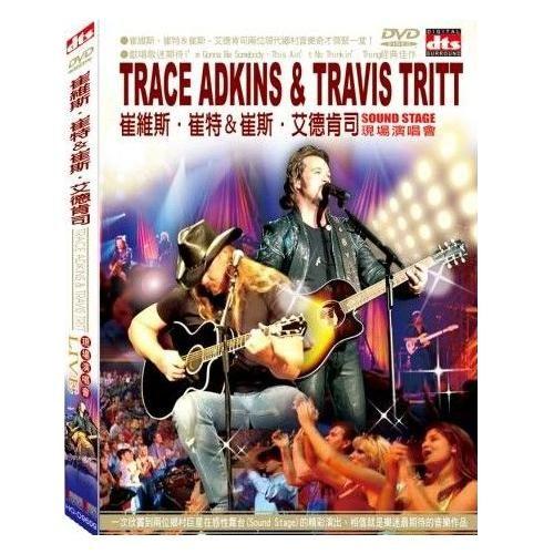 崔維斯崔特&崔斯艾德肯司現場演唱會DVD Trace Adkins & Travis Tritt 美國鄉村歌手(音樂影片購)