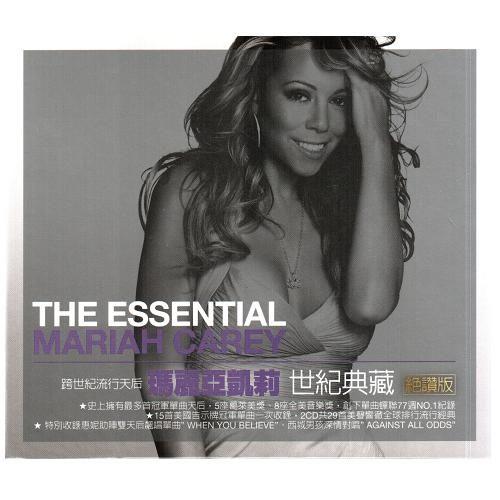 瑪麗亞凱莉 世紀典藏 絕讚版 2CD Mariah Carey The Essential Mariah Carey (音樂影片購)