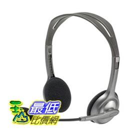 [104美國直購] Logitech 羅技 Stereo Headset H110 耳機 TC2 $528