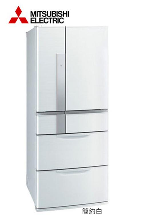 MITSUBISHI 三菱 635公升變頻六門電冰箱 MR-JX64W / MRJX64W **免運費+基本安裝+舊機回收**