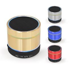 【迪特軍3C】aibo iColor 金屬螺紋 立體聲迷你藍牙喇叭 可插卡 隨身碟 AUX音頻 免持聽筒