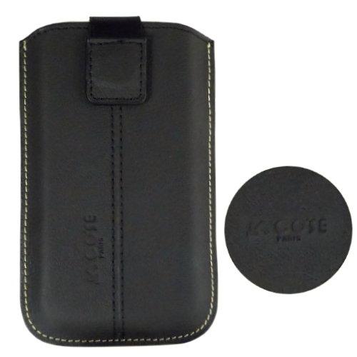 COSE Sony Ericsson X8 真皮(小牛皮)抽拉式手機套(磁鐵吸附式)『免運優惠』