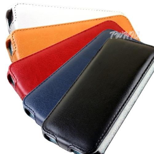 Apple iPhone 5 下掀式/掀蓋式皮套 荔枝紋限定款◆贈送! 專用型式 皮套/保護殼◆