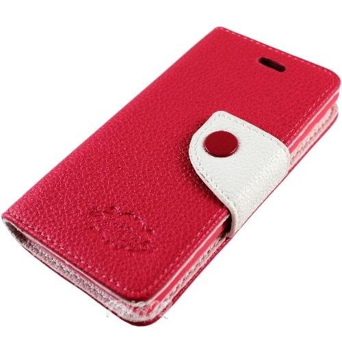 KooPin Sony Xperia Z1 (C6902) 雙料縫線 側掀(立架式)皮套