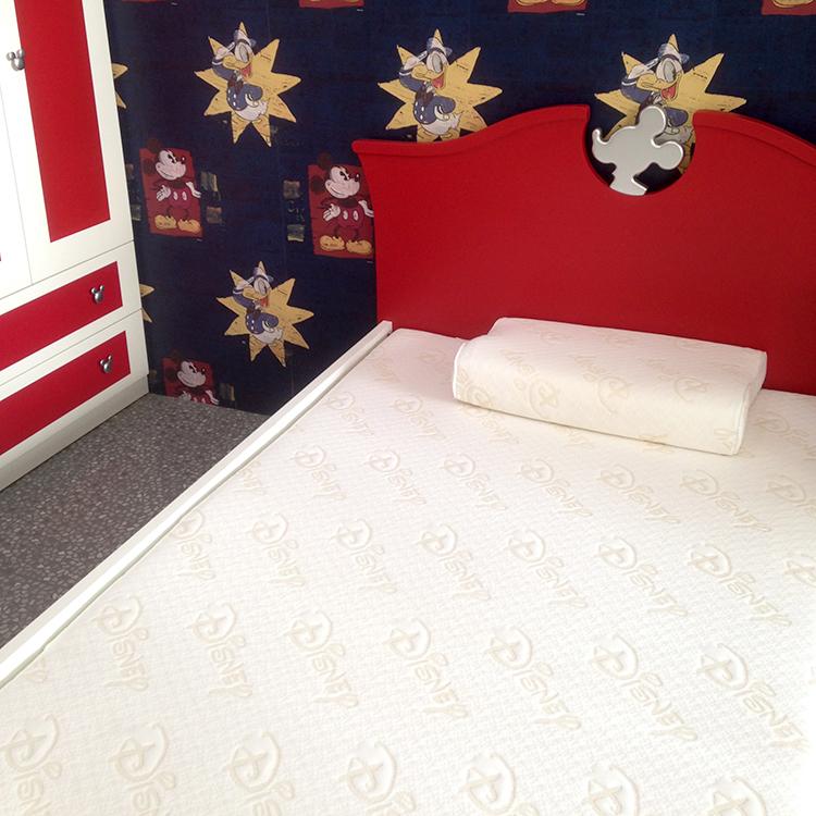 [首雅傢俬]迪士尼冬夏兩用床墊套 單人/雙人床墊套 3尺/3尺半/4尺/5尺-白色LOGO款