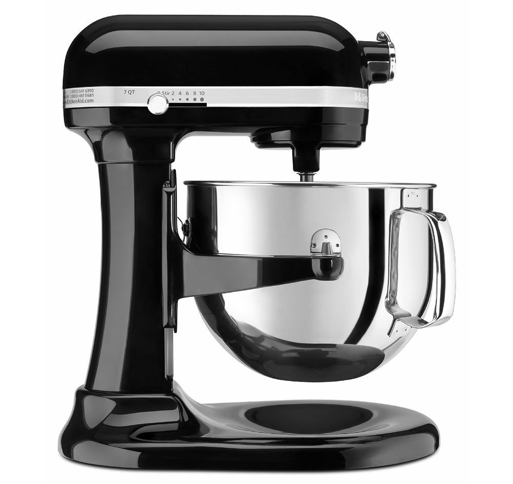 預購 KitchenAid KSM7586POB 7-Quart Pro Line Stand Mixer Onyx Black升降式攪拌機 (黑色)