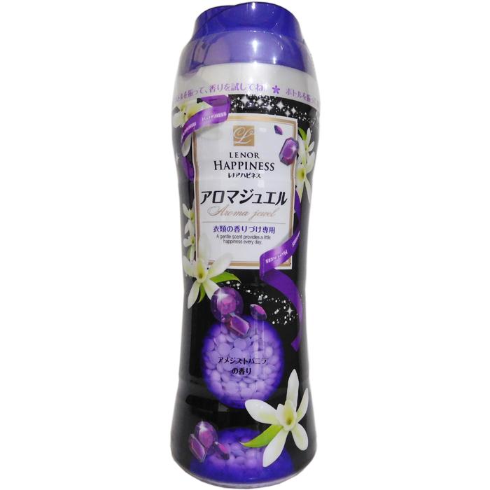 P&G 日本寶僑-衣物芳香顆粒(香香粒/香香豆) (紫色-紫晶香草香) 375g/瓶