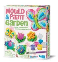 【 4M 】Mould & Paint / Garden 蝴蝶花園(磁鐵系列)