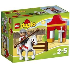 樂高積木 LEGO《 LT10568 》2014 年 Duplo 幼兒系列 - 騎士征途