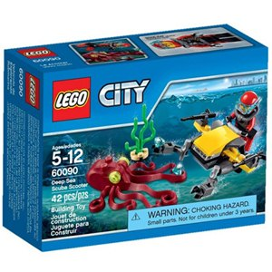樂高積木LEGO《 LT60090 》2015 年CITY 城市系列 - 深海探險潛水車