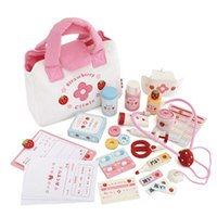 免運★野草莓小小醫護診所組「日本Mother Garden 」