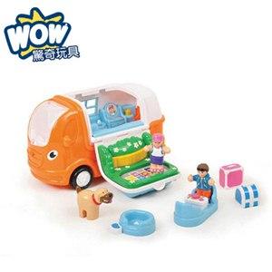 《 英國 WOW toys 》露營休旅車 凱西