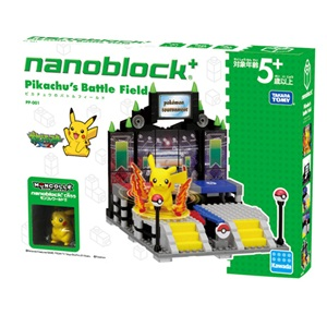 《 Nano Block PLUS 》 PP - 001 皮卡丘的鬥技場