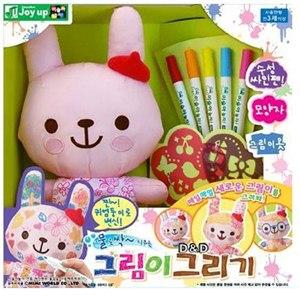 《 MIMI WORLD 》粉紅兔魔法塗鴉組