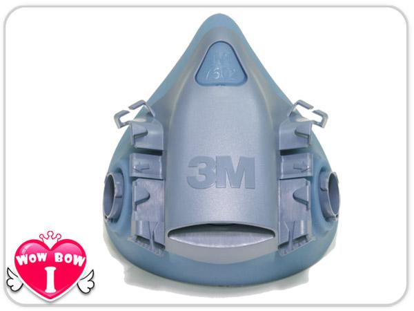 ?愛挖寶?【3M-7502 】半面罩 雙罐式 防毒面具 口罩 矽膠材質 搭6000系列濾罐