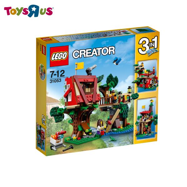 玩具反斗城 樂高 LEGO 樹屋冒險-31053***