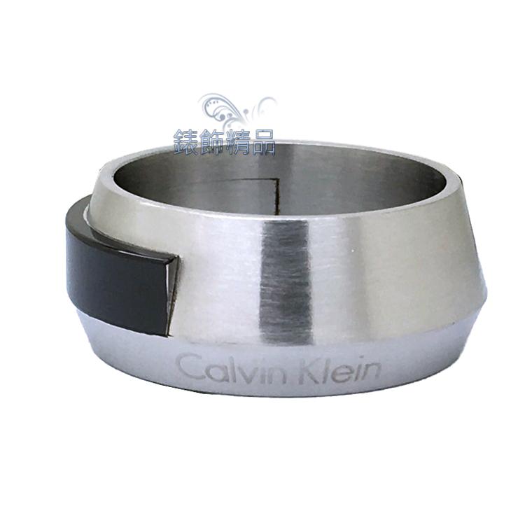 【錶飾精品】Calvin Klein CK飾品 ck男性戒指 316L白鋼 KJ4MBR2101 全新原廠正品 情人禮品